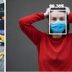 Are face masks invisible to algorithms?
