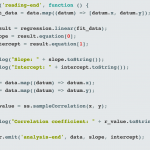 You could be using Javascript for data science. (But should you?)