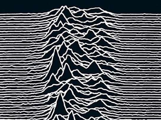 Joy Division's Unknown Pleasures cover